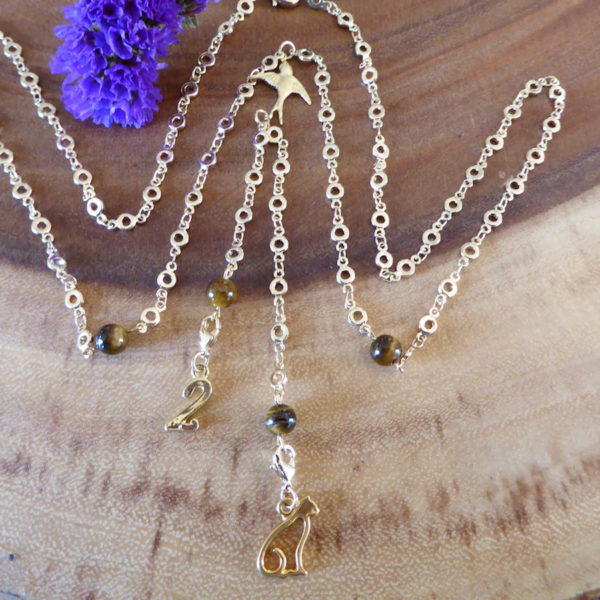 Tigers Eye Inspiration Necklace