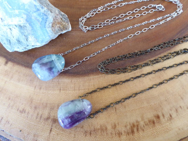 Fluorite Wonder Necklaces