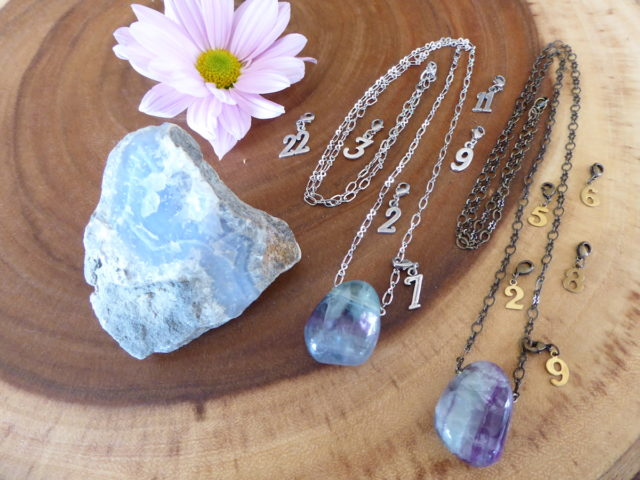 Fluorite Wonder Necklaces & Charms